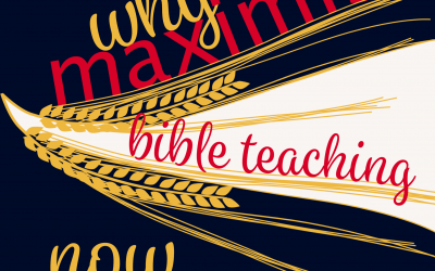 Maximise your Bible teaching: why we need to now more than ever